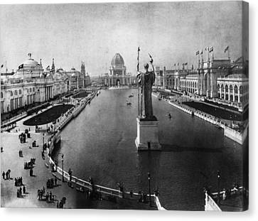Columbian Exposition, 1893 Canvas Print by Granger