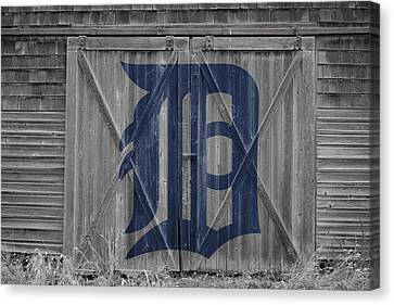 Detroit Tigers Canvas Print by Joe Hamilton
