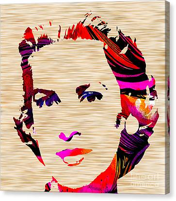 Grace Kelly Canvas Print by Marvin Blaine