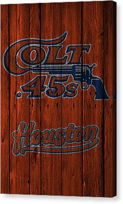 Houston Colt 45s Canvas Print by Joe Hamilton