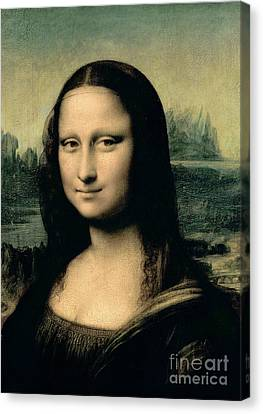 Mona Lisa Canvas Print by Leonardo Da Vinci
