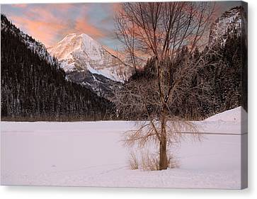 Mount Timpanogos Canvas Print by Utah Images