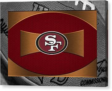 San Francisco 49ers Canvas Print by Joe Hamilton