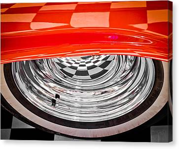 60s Look Canvas Print by Phil 'motography' Clark