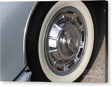 61 Corvette-grey-wheel-9236 Canvas Print by Gary Gingrich Galleries