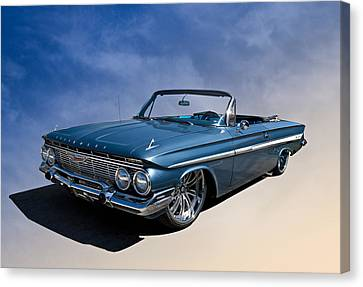 '61 Impala Canvas Print by Douglas Pittman