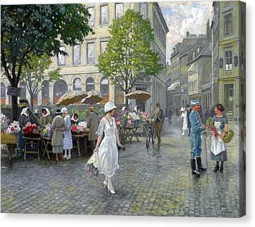 Copenhagen Canvas Print by Paul Gustav Fischer