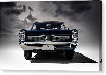 '67 Gto Canvas Print by Douglas Pittman