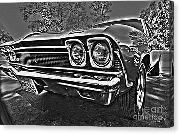 68 Chevelle Canvas Print by Cheryl Young