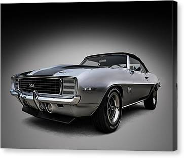 '69 Camaro Ss Canvas Print by Douglas Pittman