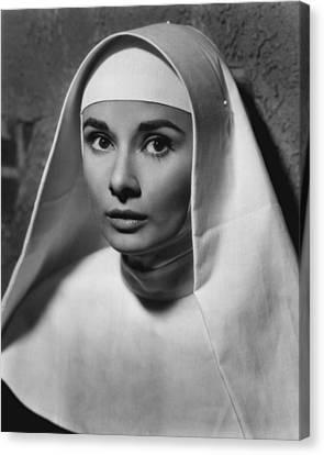 Audrey Hepburn Canvas Print by Retro Images Archive