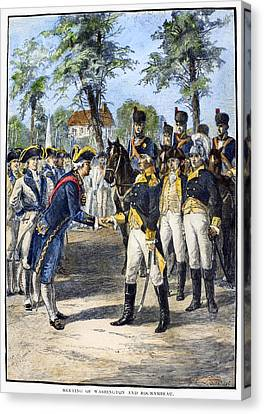Comte De Rochambeau Canvas Print by Granger