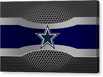 Dallas Cowboys Canvas Print by Joe Hamilton