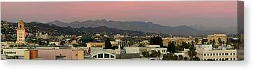 Elevated View Of Buildings In City Canvas Print by Panoramic Images