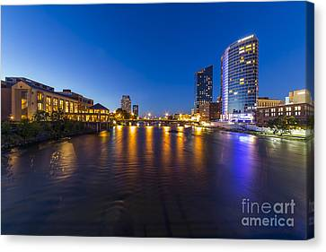 Grand Rapids  Canvas Print by Twenty Two North Photography