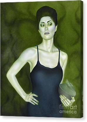 7 Invidia Canvas Print by Lorena Rivera