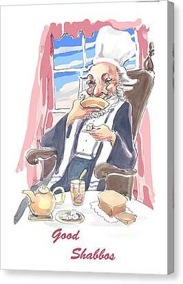 Tea And Sabbath Canvas Print by Shirl Solomon