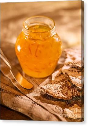 Orange Marmalade Canvas Print by Iris Richardson