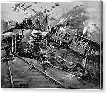 Pullman Strike, 1894 Canvas Print by Granger