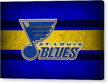 St Louis Blues Canvas Print by Joe Hamilton