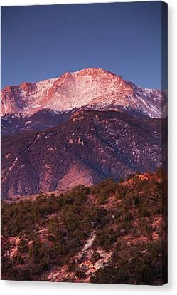 Usa, Colorado, Colorado Springs, Garden Canvas Print by Walter Bibikow