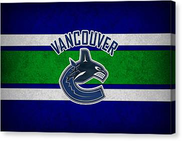 Vancouver Canucks Canvas Print by Joe Hamilton