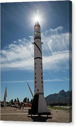 White Sands Missile Range Museum Canvas Print by Jim West