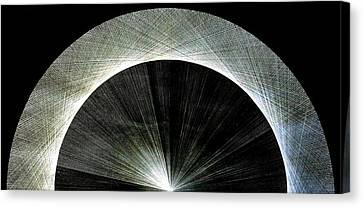 720 Pi Half Rainbow Canvas Print by Jason Padgett