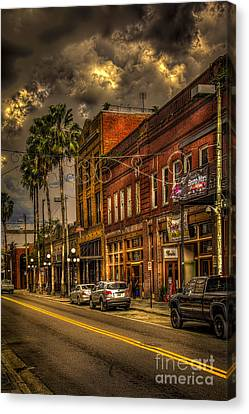 7th Avenue Canvas Print by Marvin Spates