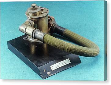 Anaesthetic Inhaler Canvas Print by Science Photo Library