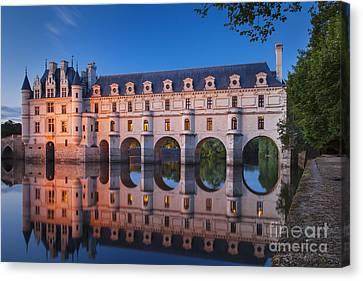 Chateau Chenonceau Canvas Print by Brian Jannsen