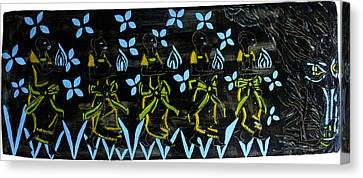 Five Wise Virgins Canvas Print by Gloria Ssali