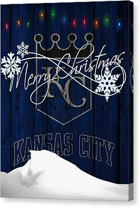 Kansas City Royals Canvas Print by Joe Hamilton