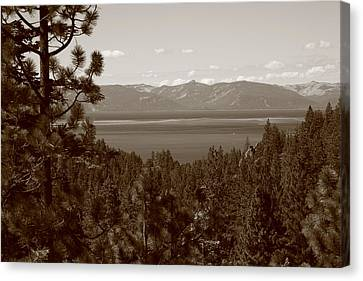Lake Tahoe Canvas Print by Frank Romeo