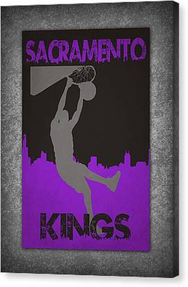 Sacramento Kings Canvas Print by Joe Hamilton