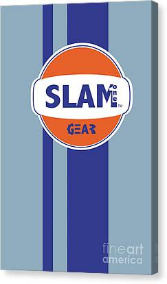 Slam One Gear Canvas Print by James Eye