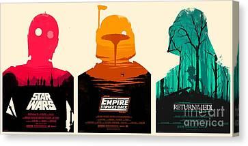 Star Wars Canvas Print by Baltzgar