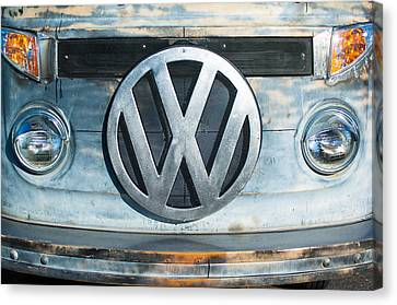 Volkswagen Vw Emblem Canvas Print by Jill Reger