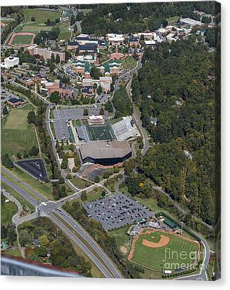 Western Carolina University Campus Canvas Print by David Oppenheimer