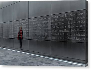9/11 Memorial Canvas Print by Eduard Moldoveanu