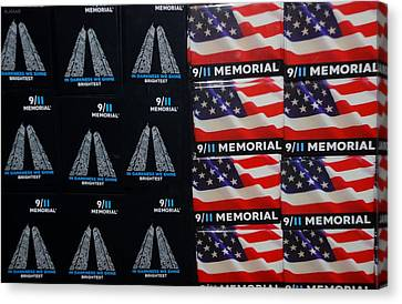 9/11 Memorial For Sale Canvas Print by Rob Hans