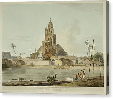 Antiquities Of India Canvas Print by British Library