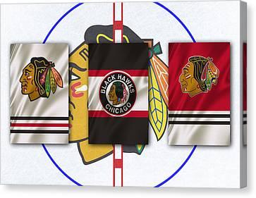 Chicago Blackhawks Canvas Print by Joe Hamilton