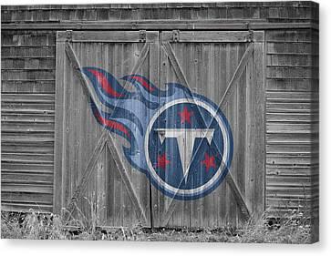 Tennessee Titans Canvas Print by Joe Hamilton