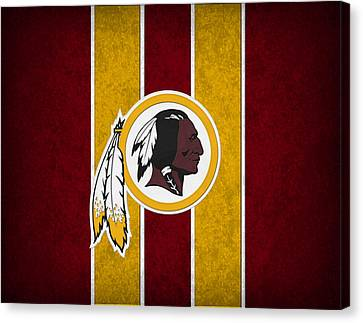 Washington Redskins Canvas Print by Joe Hamilton