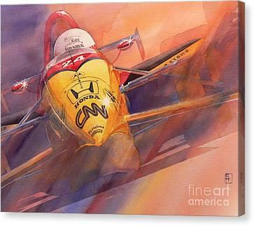 95 Winner Canvas Print by Robert Hooper