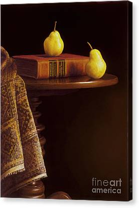 A Bartlett Of A Different Kind Canvas Print by Barbara Groff