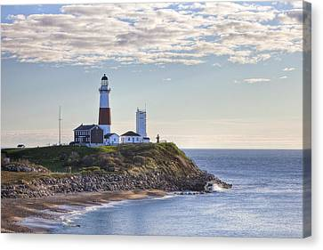 A Beacon On The Hill Canvas Print by Mike Lang