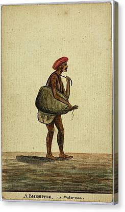 A Bheshtee Canvas Print by British Library
