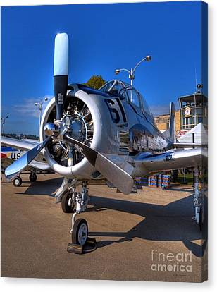 A Big Engine Canvas Print by Mel Steinhauer